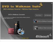 4Videosoft DVD to Walkman Suite