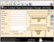 Air Cooled Heat Exchanger Design