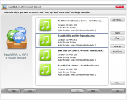 Free WMA to MP3 Convert Wizard