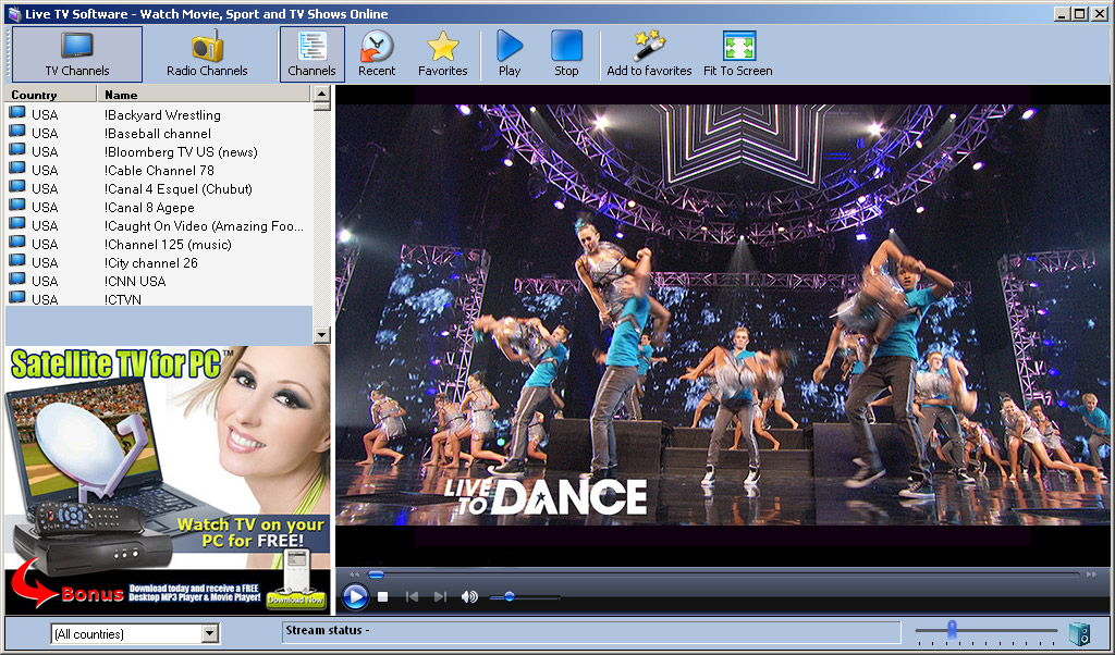 5 Free Software to Watch Internet TV from PC