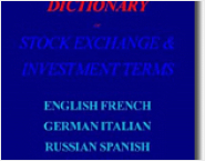 Multilingual Dictionary of Stock Exchang