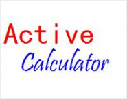 Active Calculator Component