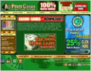 All Poker Casino by Online Casino Extra