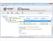 BKF File Recovery Software