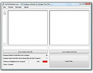 Buy File compare software to compare two text or binary files! Diff utility!