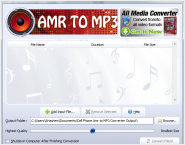 Cell Phone Amr to mp3 Converter