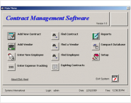 Contract Management Software e3