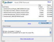 Epubor Nook DRM Removal for Mac