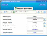 Excel Password Recovery Master