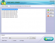 Free MP3 Joiner