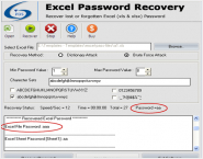 Free MS Excel Password Recovery