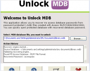 Get Access Database Password