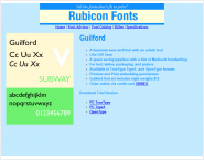 Guilford Font Type1