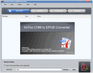 ImTOO CHM to EPUB Converter
