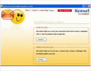 Kernel IncrediMail Recovery Software