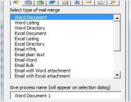 Mail Merge for Microsoft Access 2003