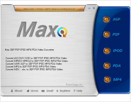 Max 3GP PDA MP4 Video Converter