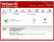 Max Secure Anti Virus Pro 2012