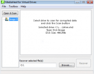 MediaHeal for Virtual Drives