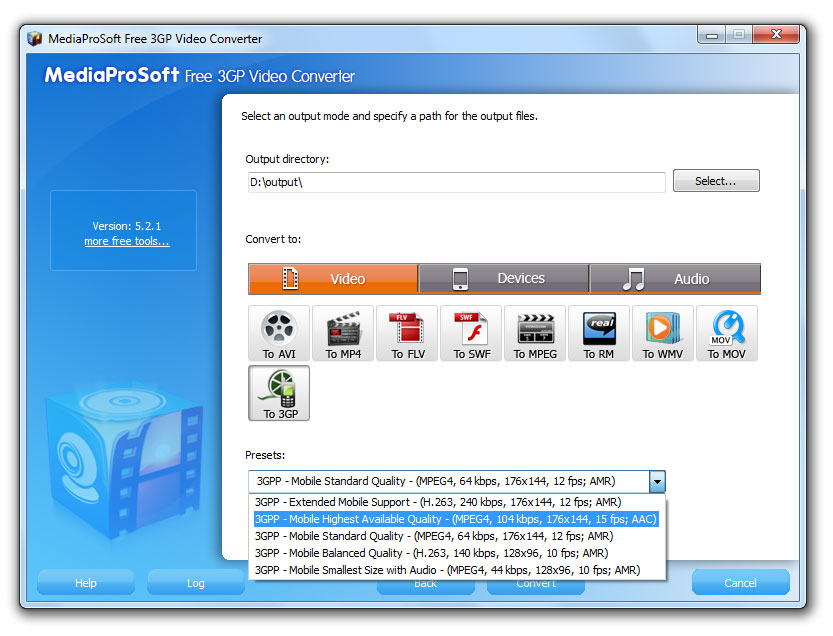 video converter free download 3gp for mobile