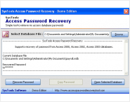 Microsoft Access Password Recovery Tool