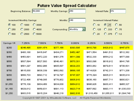 Using the NPV Calculator