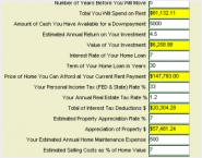 MoneyToys Rent or Buy Calculator