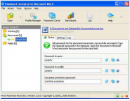 MS Word Document Password Recovery