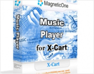 Music Player for X-Cart