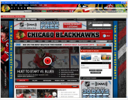 NHL Chicago Blackhawks Firefox Theme
