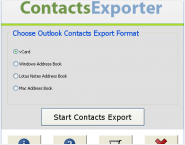 Outlook Contacts Exporter