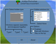 Photoshop Interface Assistant