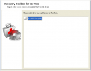 Recovery Toolbox for CD Free