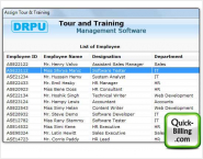 Tour and Training Management Software
