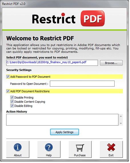 Unlock Print Function PDF File 7.01 - Download Win Apps. Quick and easy it is now to Unlock ...