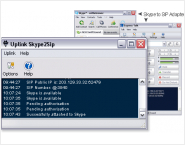 Uplink Skype to Sip Adapter