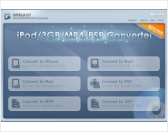 WinAVI 3GP/MP4/PSP/iPod Video Converter