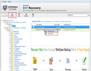 Windows BKF File Recovery