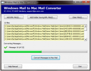 Windows Mail to Mac Mail